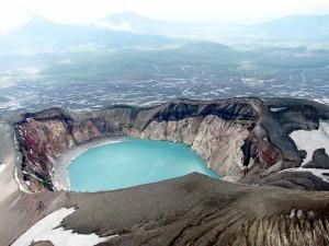 kamvulcano cratere
