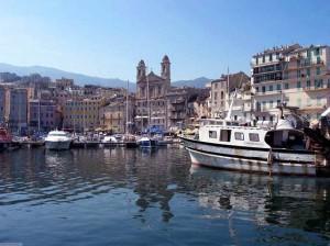 Bastia vista dal mare