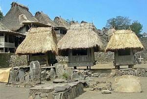 Indonesia villaggio Sumba