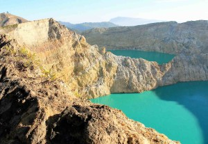 Indonesia Vulcano Kalimutu