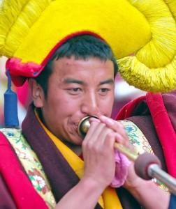Un monaco cinese