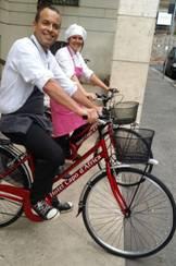 Roma, in bicicletta per conoscere le bellezze della città eterna