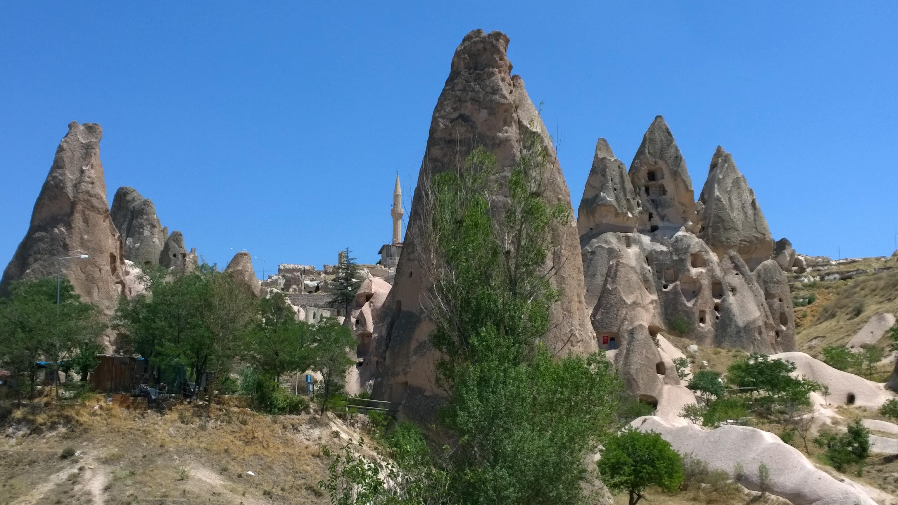 Camini delle fate in Cappadocia