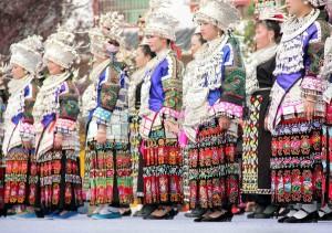 Guizhou, donne Miao