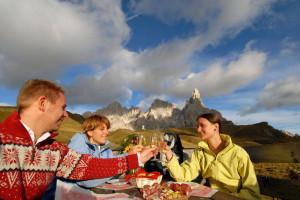 Trentino, rifugi del gusto