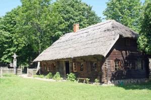 Una casa nel villaggio di Rumsiskes in Lituania
