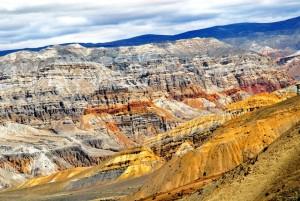 Un canyon nel Mustang