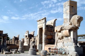I resti di Persepolis in Iran