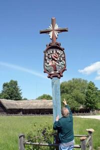 Un angolo di lituania trasformato in museo etnografico