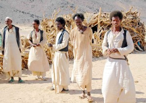 Nomadi beja in Sudan