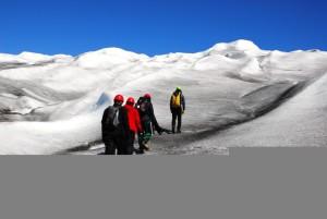 Trekking in Groelandia