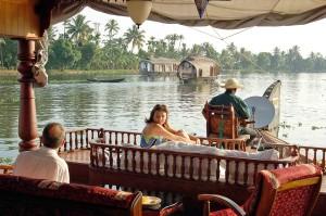 Backwaters nel Kerala