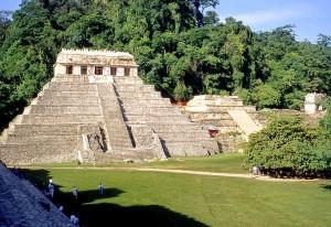 Chiapas-Guatemala, Tempio Iscrizioni