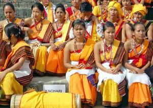 etnie nell'India di nord-est