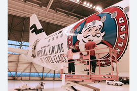 Finnair è la linea aerea ufficiale di Babbo Natale