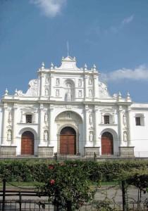 Messico, l'Antigua Cattedrale