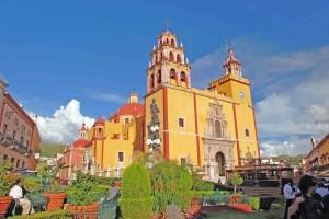 Messico, la cattedrale di Guanajauto