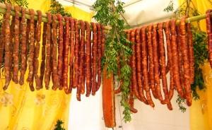 sagra della salsiccia nel Lazio vicino a Latina