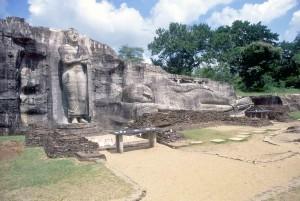 Sri Lanka, resti della città Polonnaruwa
