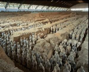 Cina, l'armata di terracotta a Xian
