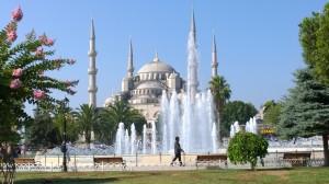 Istambul, la moschea Blu