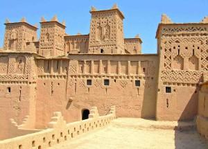 Marocco, Quardzazate kasba Taourirt