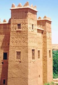Marocco, Quarzazate kasba Taourirt