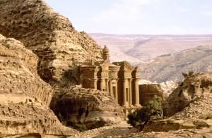 Giordania, Monastero a Petra
