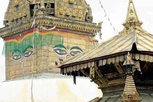 Nepal, tempio Bonat