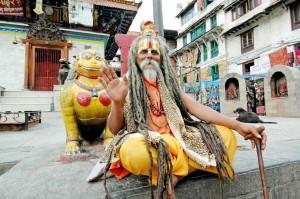 Nepal, un santone