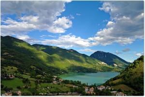 Il borgo di paganico Sabino in provincia di Rieti