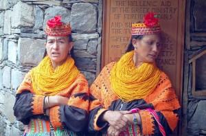 Pakistan, donne kalash kafiristan