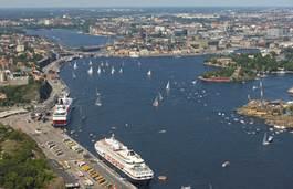 Stoccolma, il porto
