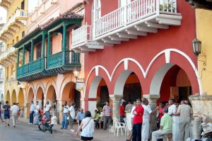 Cartaghena, balconi