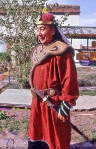 Mongolia, Naadam, guerriero