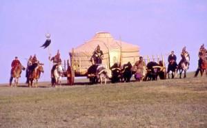 Mongolia, Nadaam, rievocazione storica