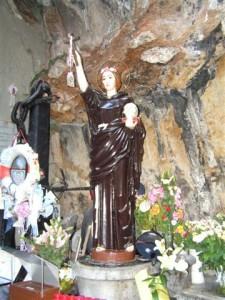 Sicilia, statua Santa Rosalia