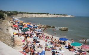 Bisceglie, la spiaggia