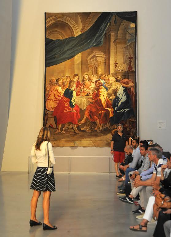 L'istituzione dell'Eucarestia di Rubens a Expo