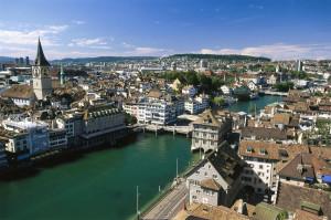Zurigo, splendida città svizzera