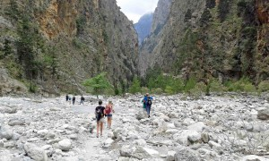 Trekking a Creta