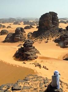Algeria, deserto Erg Tihodaine