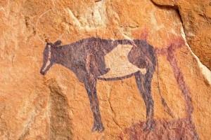 Algeria, pittura rupestre