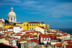 Lisbona, panoramica della città