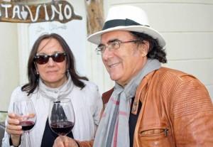 Cellino San Marco, Al bano con Anna Maria Arnesano