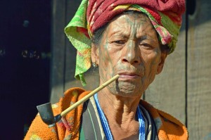 Birmania, donna Chin