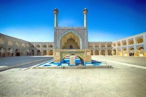 Iran, Isfahan, moschea