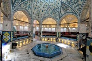 Iran, Kashan, bagno turco