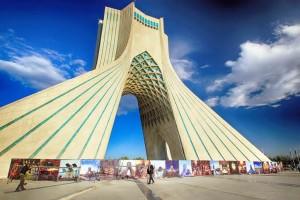 Iran, Teheran Azadi Tower