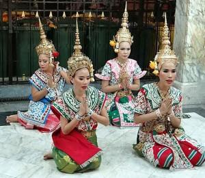 Bangkok, danzatrici